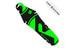 """rie:sel design rit:ze back fender saddle 26"""" - 29"""" bright green label"""